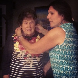 80 ear pulls and a pinch to grow an inch! Happy Birthday Nanny!